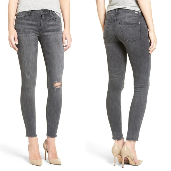 DL1961 Denim - No. 3 Instasculpt Ripped Weathered Skinny Jeans